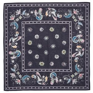 Vera Bradley Navy Blue Night Sky Cotton Bandana
